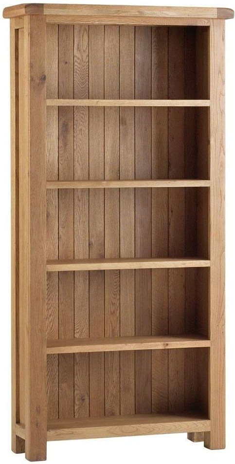 Global Home Lovell Oak Large Bookcase