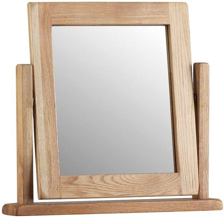 Global Home Lovell Oak Swivel Mirror