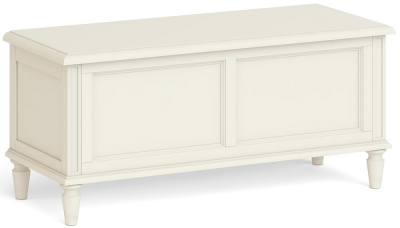 Global Home Marseille Ivory Painted Blanket Box