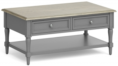 Global Home Marseille Grey Painted Coffee Table