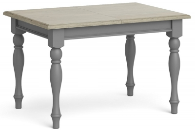 Global Home Marseille Grey Painted Compact Extending Dining Table