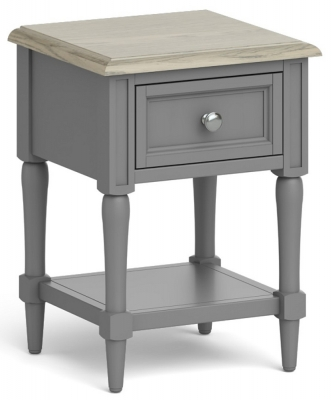 Global Home Marseille Grey Painted Lamp Table