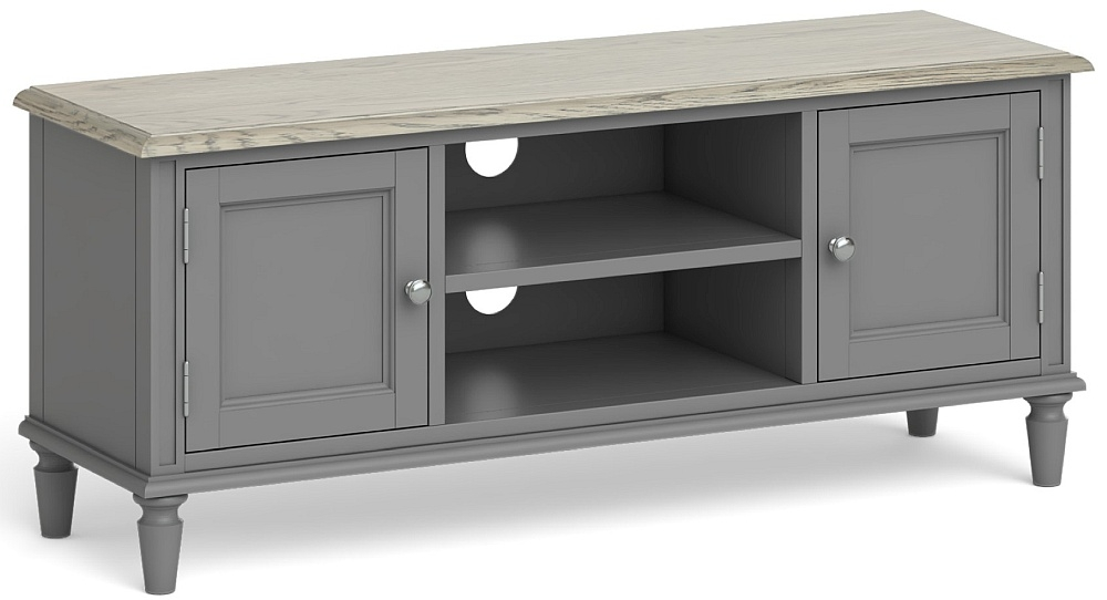 Global Home Marseille Grey Painted Large TV Unit