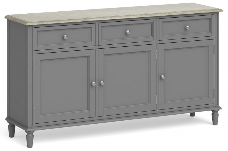 Global Home Marseille Grey Painted Large Sideboard