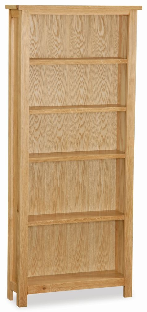 Global Home New Trinity Oak Large Bookcase