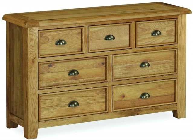 Global Home Odyssey Oak 3+4 Drawer Chest