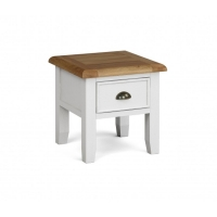 Global Home Odyssey Painted 1 Drawer Lamp Table