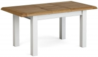 Global Home Odyssey Painted Rectangular Extending Dining Table - 120cm-165cm