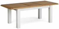 Global Home Odyssey Painted Rectangular Extending Dining Table - 160cm-210cm