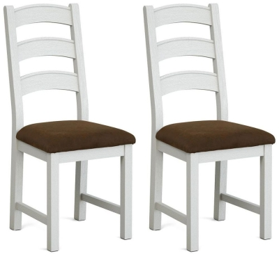 Global Home Odyssey Painted Fabric Dining Chair (Pair)