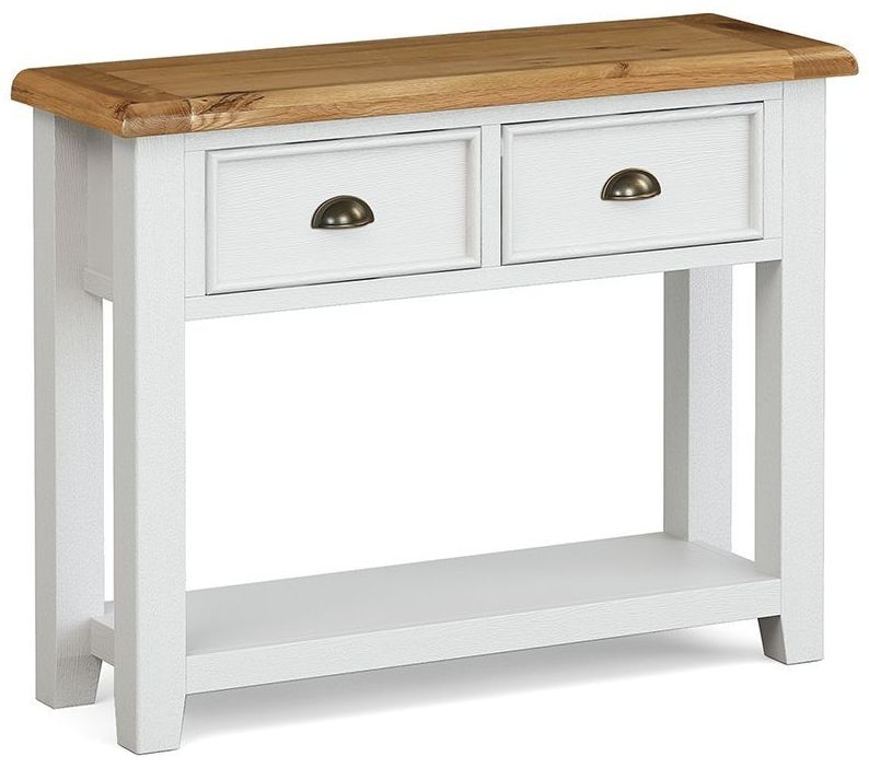 Global Home Odyssey Painted 2 Drawer Console Table