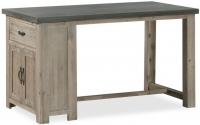 Global Home Rockhampton Oak Bar Table