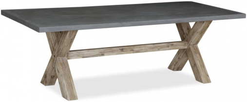 Global Home Rockhampton Oak Rectangular Dining Table