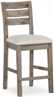 Global Home Rockhampton Oak Gathering Height Stool