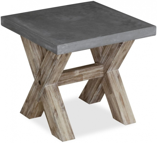 Global Home Rockhampton Oak Lamp Table