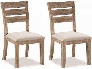 Global Home Rockhampton Oak Dining Chair (Pair)