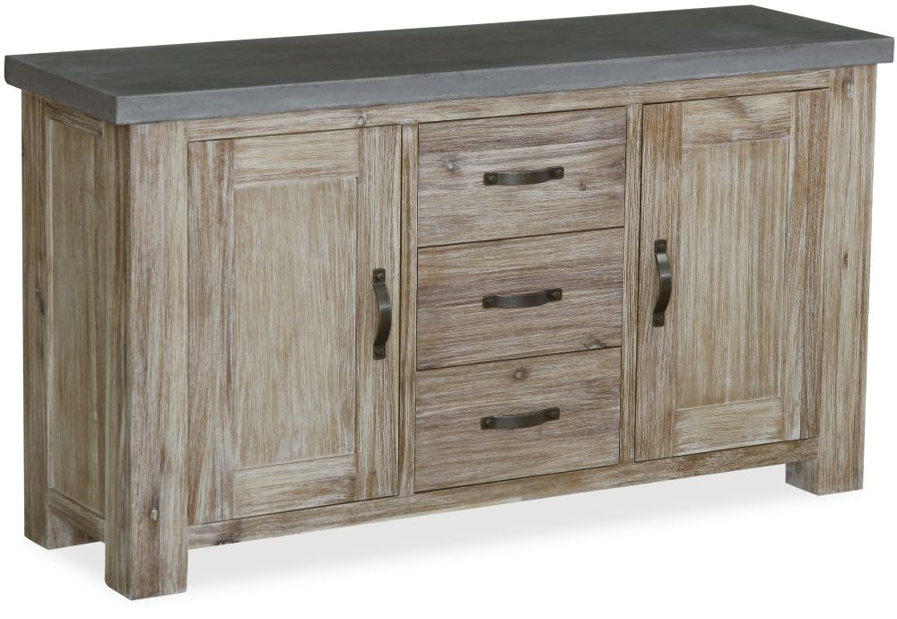 Global home rockhampton oak sideboard large Global home furniture uk