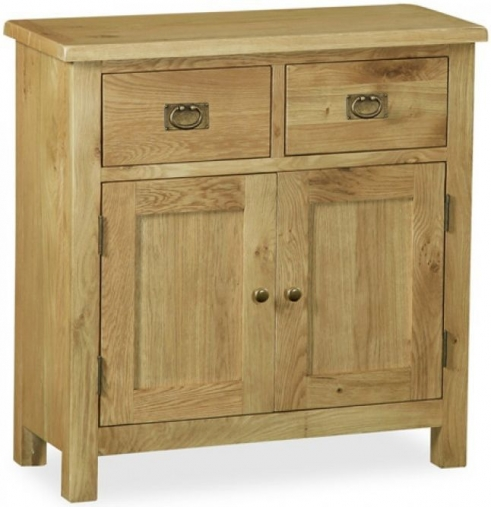 Buy global home salisbury lite oak sideboard mini online cfs uk Global home furniture uk