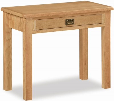 Salisbury Lite Oak Laptop Desk