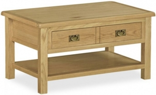 Global Home Salisbury Lite Oak Coffee Table