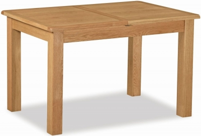 Salisbury Lite Oak 120cm-165cm Extending Dining Table