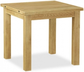 Global Home Salisbury Lite Oak Dining Table - Square Extending
