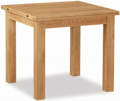 Salisbury Lite Oak 85cm-170cm Square Extending Dining Table