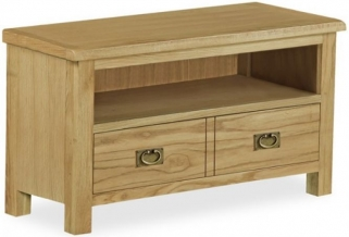 Global Home Salisbury Lite Oak TV Unit - Small