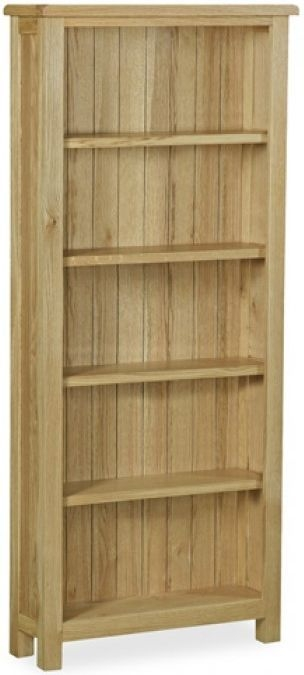 Global Home Salisbury Lite Oak Bookcase - Large