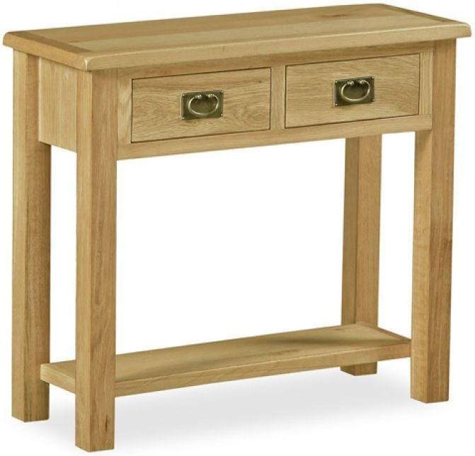 Global Home Salisbury Lite Oak Console Table