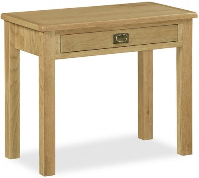 Global Home Salisbury Lite Oak Laptop Desk