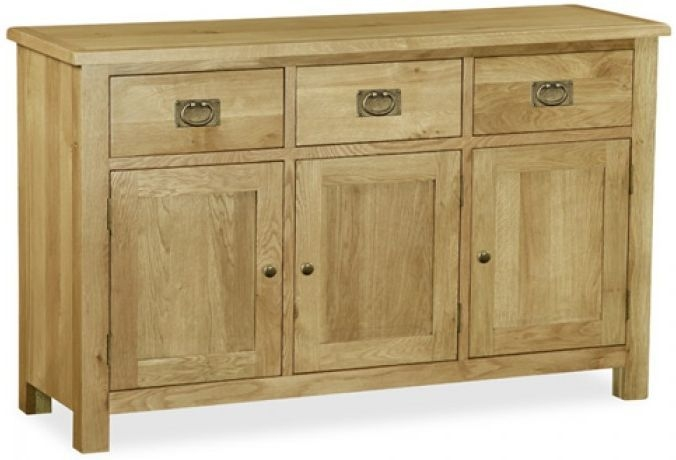 Global Home Salisbury Lite Oak Sideboard - Large