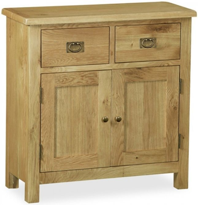 Global Home Salisbury Lite Oak Sideboard - Mini