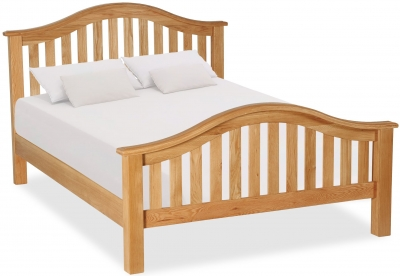 Global Home Salisbury Oak 4ft 6in Slatted Bed
