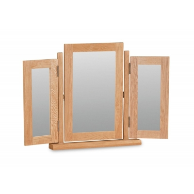 Global Home Salisbury Oak Mirror - Triple