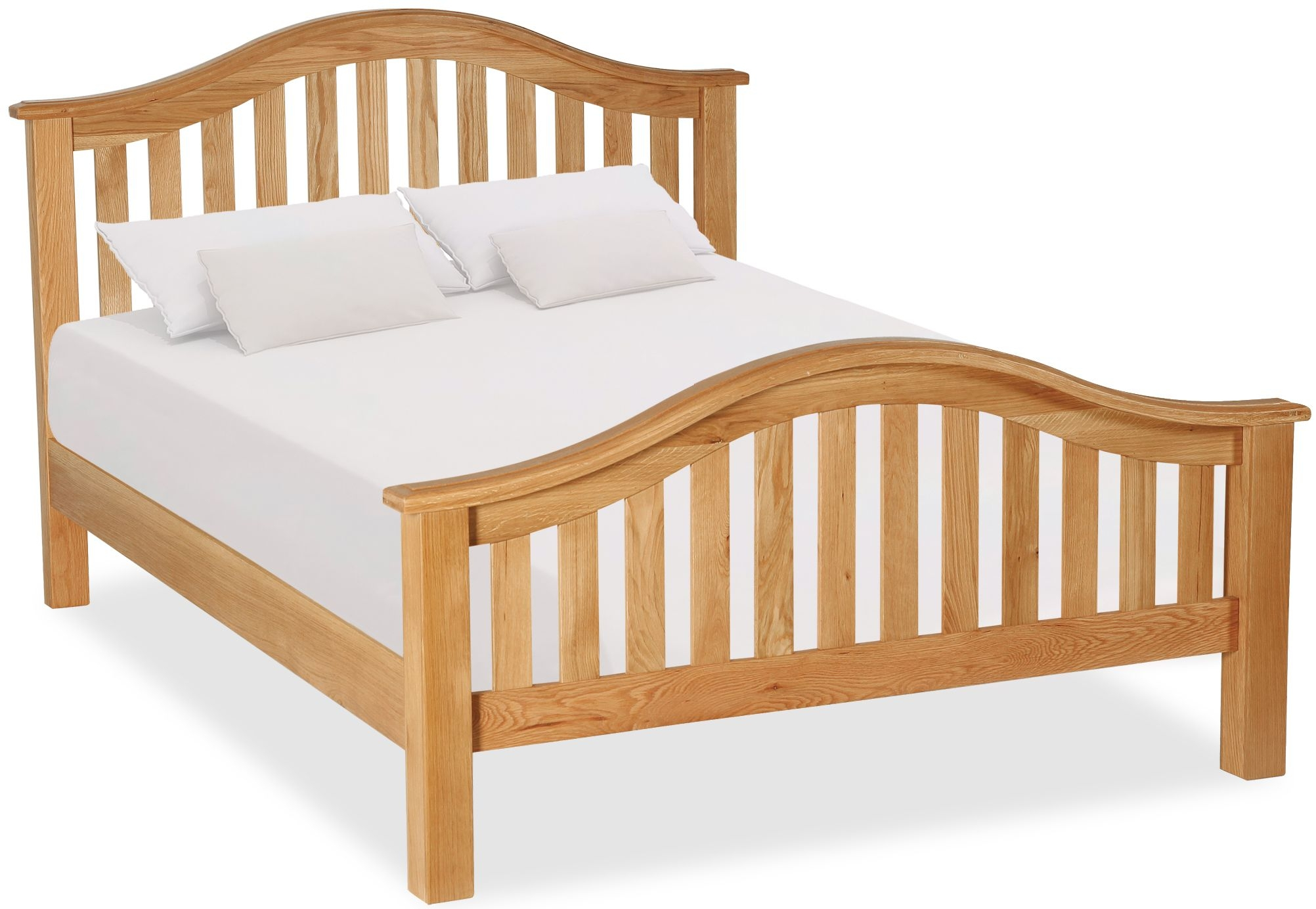Salisbury Oak Classic Slatted Bed