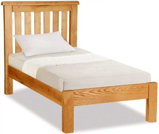 Global Home Salisbury Oak Low Bed