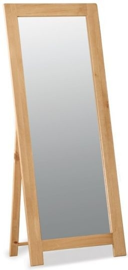 Global Home Salisbury Oak Cheval Mirror