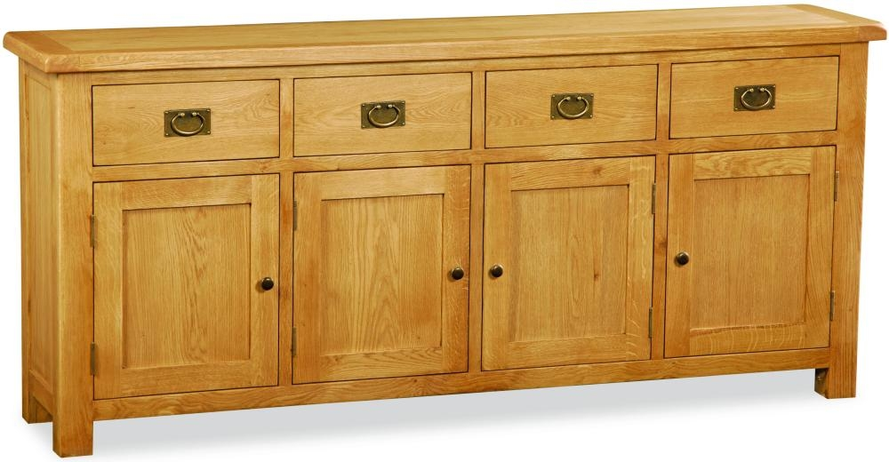 Global Home Salisbury Oak Sideboard - Extra Large