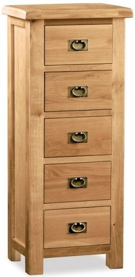 Global Home Salisbury Oak Tallboy