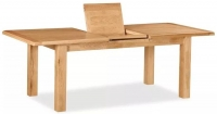 Global Home Salisbury Oak Rectangular Butterfly Extending Dining Table - 180cm-230cm