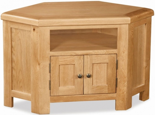 Buy global home salisbury oak tv unit corner online cfs uk Global home furniture uk