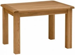 Global Home Salisbury Oak Dining Table - 120cm Fixed
