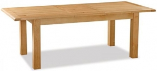 Global Home Salisbury Oak Dining Table - Compact Extending