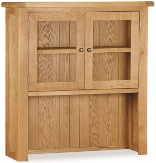 Global Home Salisbury Oak Hutch - Small