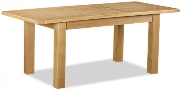 Global Home Salisbury Oak Dining Table - 150cm-200cm Small Rectangular Extending