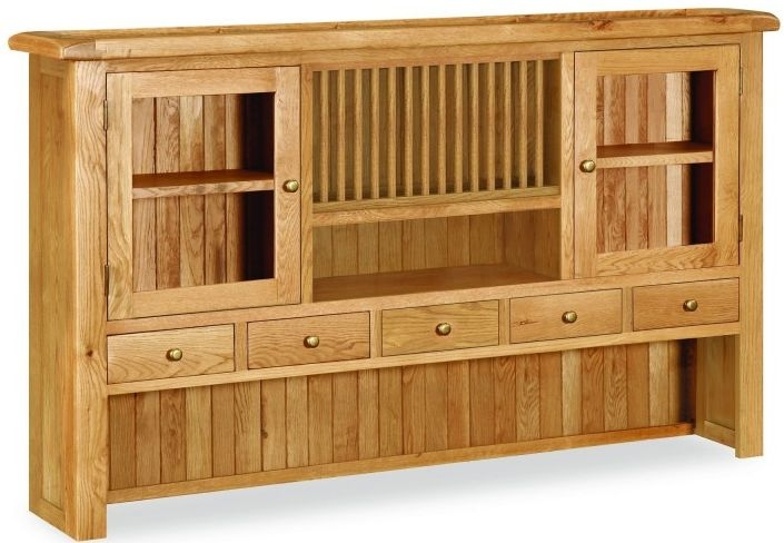 Global Home Salisbury Oak Wide Hutch