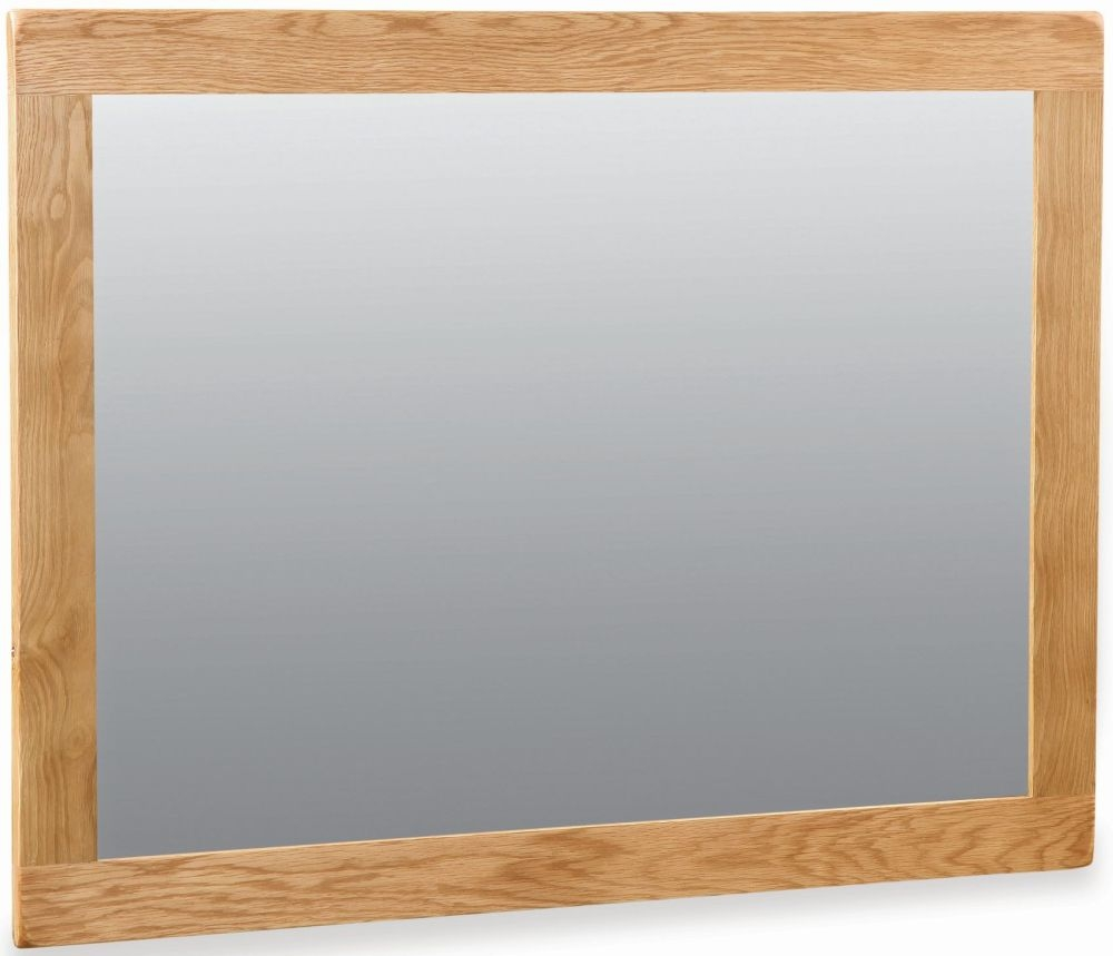 Salisbury Oak Rectangular Mirror