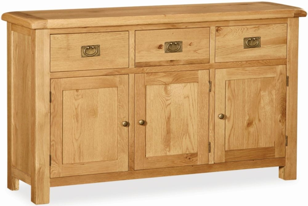 Global Home Salisbury Oak Sideboard - Large