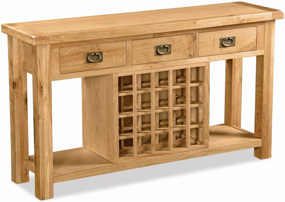 Buy global home salisbury oak sideboard open online cfs uk Global home furniture uk